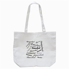 Homeschool Tote Bag (white) by athenastemple