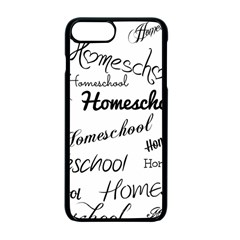 Homeschool Apple Iphone 7 Plus Seamless Case (black) by athenastemple