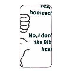 Bible No Apple Iphone 4/4s Seamless Case (black) by athenastemple
