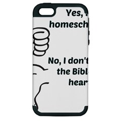 Bible No Apple Iphone 5 Hardshell Case (pc+silicone) by athenastemple