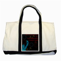 Huddledmasses Two Tone Tote Bag by athenastemple
