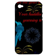 Huddledmasses Apple Iphone 4/4s Hardshell Case (pc+silicone) by athenastemple