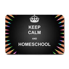 Keepcalmhomeschool Small Doormat  by athenastemple
