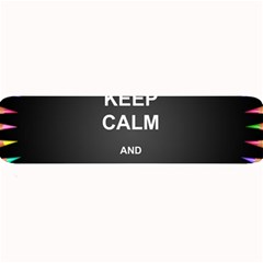 Keepcalmhomeschool Large Bar Mats by athenastemple
