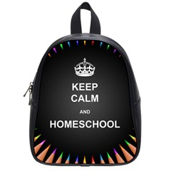 Keepcalmhomeschool School Bags (small)  by athenastemple