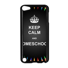 Keepcalmhomeschool Apple Ipod Touch 5 Case (black) by athenastemple