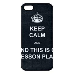 Lessonplan Apple Iphone 5 Premium Hardshell Case by athenastemple