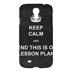 Lessonplan Samsung Galaxy S4 I9500/i9505 Hardshell Case by athenastemple