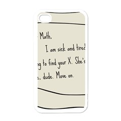 Mathx Apple Iphone 4 Case (white) by athenastemple