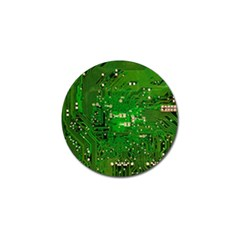 Circuit Board Golf Ball Marker (10 Pack) by Nexatart