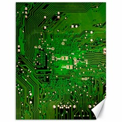 Circuit Board Canvas 18  X 24   by Nexatart