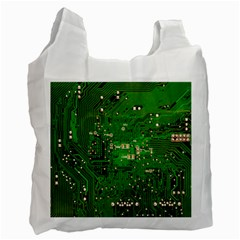 Circuit Board Recycle Bag (two Side)  by Nexatart