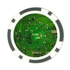 Circuit Board Poker Chip Card Guard (10 Pack) by Nexatart