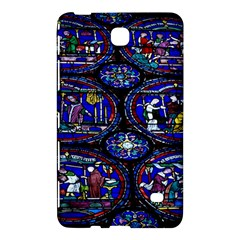 Church Window Canterbury Samsung Galaxy Tab 4 (7 ) Hardshell Case  by Nexatart