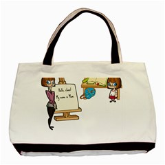 Mom Basic Tote Bag (two Sides) by athenastemple