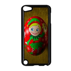 Christmas Wreath Ball Decoration Apple Ipod Touch 5 Case (black) by Nexatart