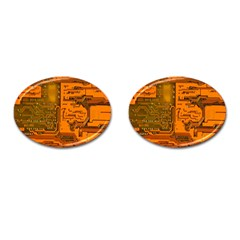 Circuit Cufflinks (oval)