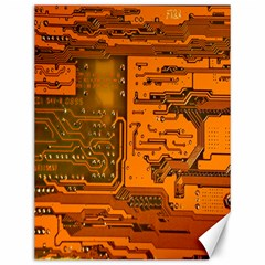 Circuit Canvas 12  X 16   by Nexatart