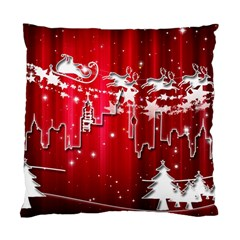 City Nicholas Reindeer View Standard Cushion Case (two Sides)