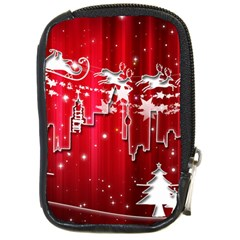City Nicholas Reindeer View Compact Camera Cases by Nexatart