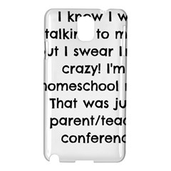 Parentteacher Samsung Galaxy Note 3 N9005 Hardshell Case by athenastemple