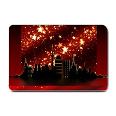 City Silhouette Christmas Star Small Doormat