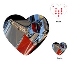Classic Car Design Vintage Restored Playing Cards (heart)  by Nexatart