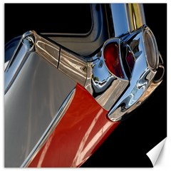 Classic Car Design Vintage Restored Canvas 12  X 12   by Nexatart