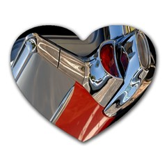 Classic Car Design Vintage Restored Heart Mousepads by Nexatart