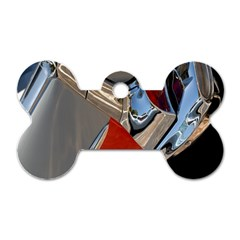 Classic Car Design Vintage Restored Dog Tag Bone (two Sides) by Nexatart