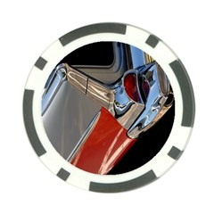 Classic Car Design Vintage Restored Poker Chip Card Guard (10 Pack) by Nexatart