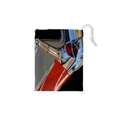 Classic Car Design Vintage Restored Drawstring Pouches (xs)  by Nexatart