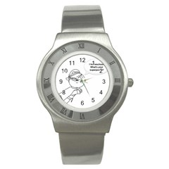 Super Stainless Steel Watch by athenastemple