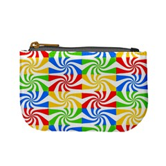 Colorful Abstract Creative Mini Coin Purses by Nexatart