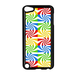 Colorful Abstract Creative Apple Ipod Touch 5 Case (black) by Nexatart