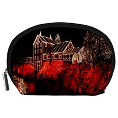 Clifton Mill Christmas Lights Accessory Pouches (large)  by Nexatart
