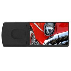 Classic Car Red Automobiles Usb Flash Drive Rectangular (4 Gb) by Nexatart