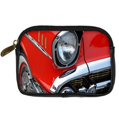 Classic Car Red Automobiles Digital Camera Cases by Nexatart