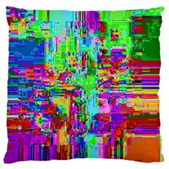 Compression Pattern Generator Large Flano Cushion Case (two Sides) by Nexatart