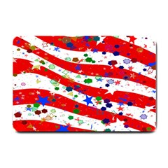 Confetti Star Parade Usa Lines Small Doormat