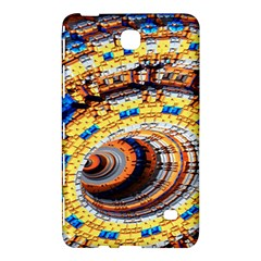 Complex Fractal Chaos Grid Clock Samsung Galaxy Tab 4 (7 ) Hardshell Case  by Nexatart