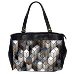 Cube Design Background Modern Office Handbags (2 Sides)  Front