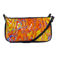 Crazy Patterns In Yellow Shoulder Clutch Bags by Nexatart