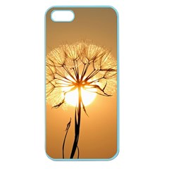 Dandelion Sun Dew Water Plants Apple Seamless Iphone 5 Case (color) by Nexatart