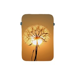 Dandelion Sun Dew Water Plants Apple Ipad Mini Protective Soft Cases by Nexatart