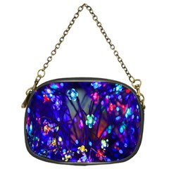 Decorative Flower Shaped Led Lights Chain Purses (one Side)
