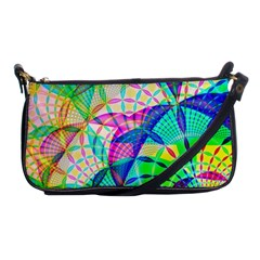 Design Background Concept Fractal Shoulder Clutch Bags by Nexatart