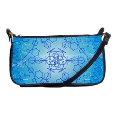 Design Winter Snowflake Decoration Shoulder Clutch Bags by Nexatart