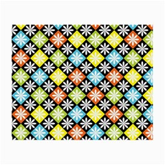 Diamonds Argyle Pattern Small Glasses Cloth