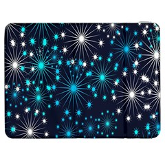 Digitally Created Snowflake Pattern Samsung Galaxy Tab 7  P1000 Flip Case by Nexatart
